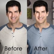 retouching headshots