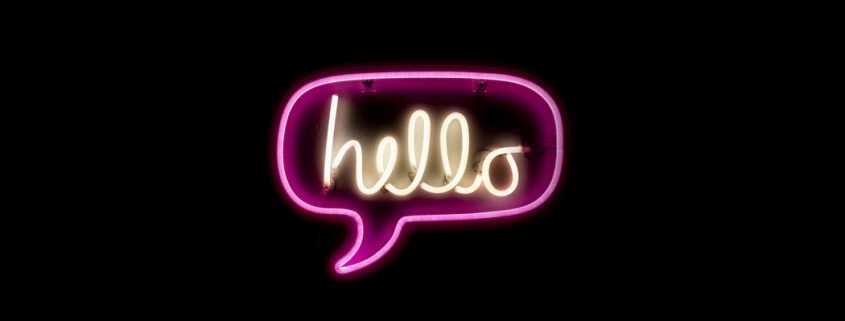 hello sign!